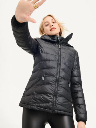 DKNY Women s Packable Quilted Jacket e5190