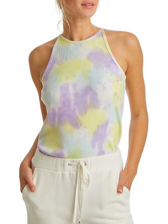 Juicy Couture Women s Tie Dye Ribbed Tank Top e555
